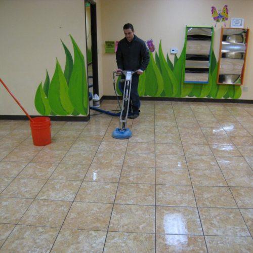 Tiles Polishing Service Tile Grout Restoration