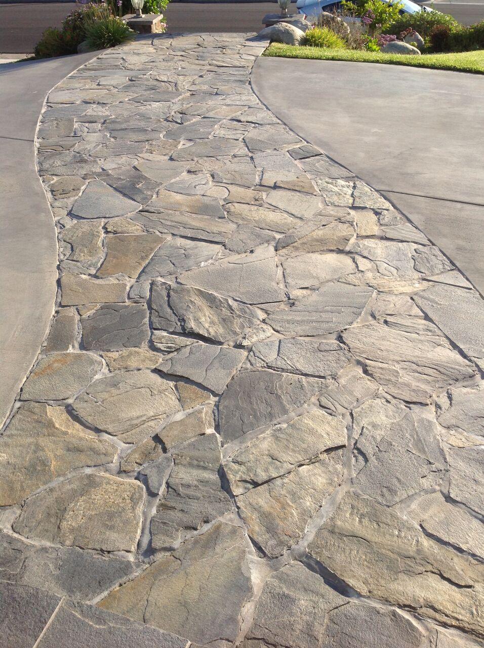 Paver Patio Installation Flagstone Walkway