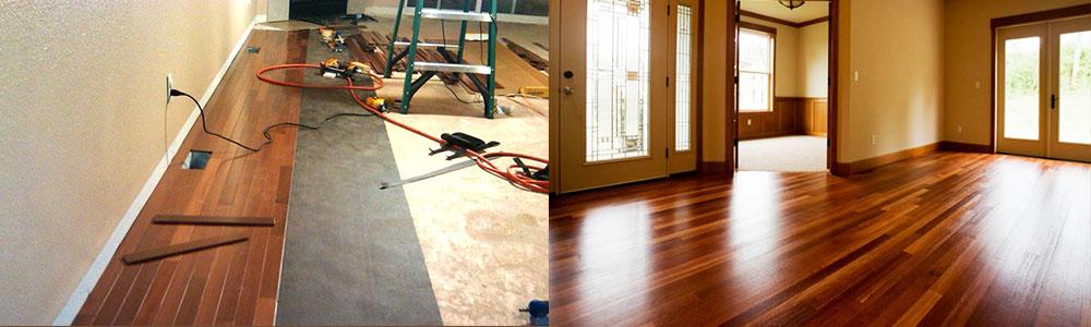 residential hardwood flooring installation brown wood floor orange county contractor