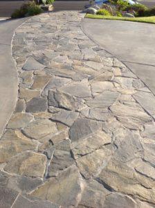 Flagstone walkway orange county newport beach costa mesa irvine