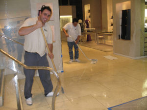 marble restore repair deep cleaning floor