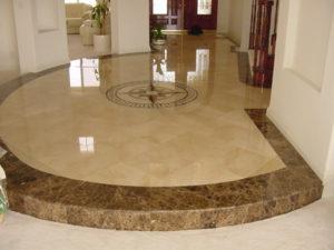 marble restore repair entryway orange county