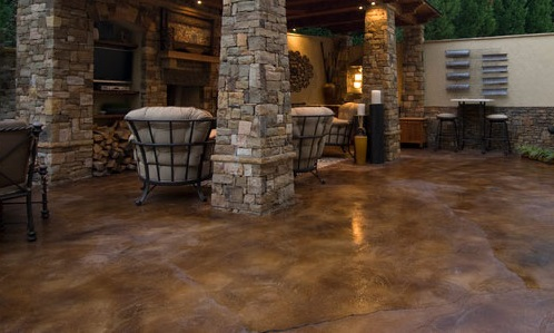 polished concrete floors in Orange County