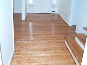 wood floor installation in orange county