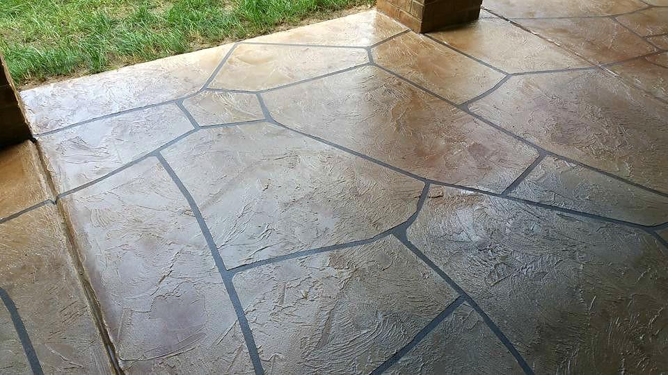 Stained concrete stamped installation orange county lake forest laguna hills laguna niguel flooring
